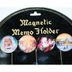 Magnet mit klassischem Design, je 3,5cm, aus Glas