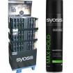 Syoss Haarspray 400ml 120er Display, 7-fach sort.