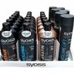 Syoss Shampoo 500ml/Haarspray 400ml 24er Mixkart.