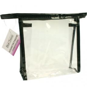 Kosmetiktasche transparent 18x18x5,5cm