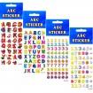 Sticker ABC + Zahlen 16x7cm 6 Designs