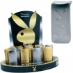 Feuerzeug elekt. Playboy Silber/Gold im Display