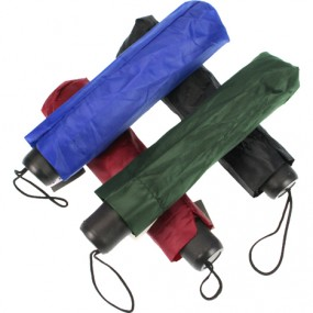 Regenschirm 90cm Taschenschirm unifarben Farben