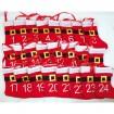 Kalender aus Filzstiefeln mit Fellrand 14,11cm