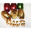 Eiknäul 6er Metallic matt-glänzende Farben