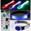 LED-Armband aus Kunstoff, 3 Farben sortiert