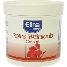 Creme Elina 250ml Rotes Weinlaub Creme in Dose