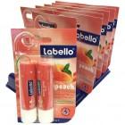 Labello Lippenpflege Fruity Peach DUO-Pack SOPO
