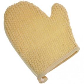 Massagehandschuh Elina 2 Seiten fein/grob 20x18cm