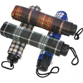 Regenschirm 100cm Taschenschirm Karomuster