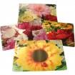 Tischset PE Blumenmotive 43x28cm 4fach sortiert