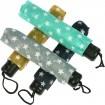 Regenschirm 100cm Taschenschirm mit Sternen
