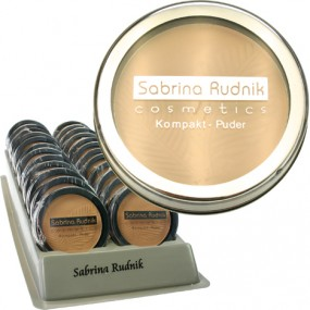 Kosm. Kompaktpuder Sabrina 11,9g farb.sortiert