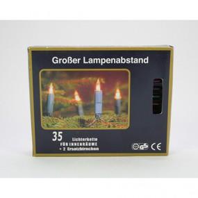 Lichterkette INNEN 35er bunt, GS, TÜV u. CE,
