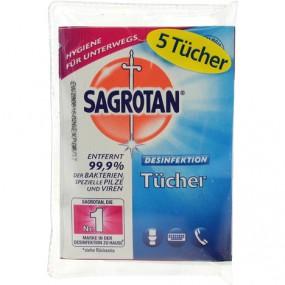 Hygienetücher Sagrotan 5er für die Reise
