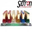 Nagellack Saffron Glitter 6 Farben sort. , 13ml
