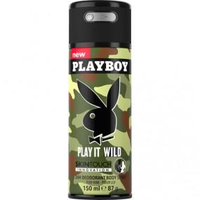 Playboy Deospray 150ml Play it Wild