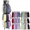 Schal Sortiment 10 Modelle farbig sort. 360 Teile