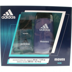 Adidas GP EdT 30ml + Dusch 200ml Moves