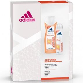 Adidas GP Woman Dusch 250ml + Deo 150ml Adipower