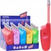 Feuerzeug Gasanzünder Trend Farben ausziehbar 8cm