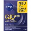 Nivea Visage Q10+ Anti Falten Nachtpflege 20ml