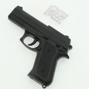 Pistole Spielzeugpistole 13cm mit Magazin