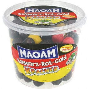 Food MAOAM Schwarz-Rot-Gold Kracher 600g