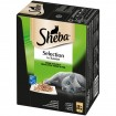Pet Sheba Katzenfutter Selection in Sauce 12x85g